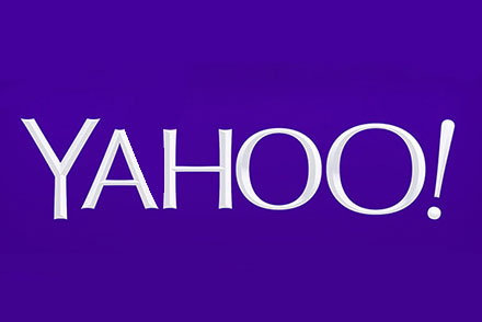 Yahoo's nye logo · Det er en ommer