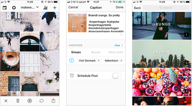 Preview instagram-apps