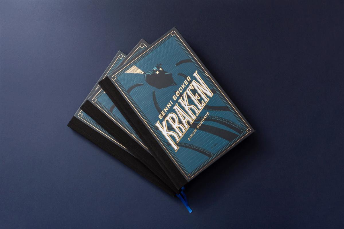 bogomslag-bogdesign-bookcover-kraken-malene-hald