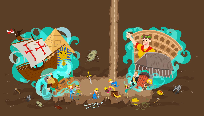 illustration-illustrator-tegning-tegner-historie-malene-hald-folkeskolen-undervisning-1