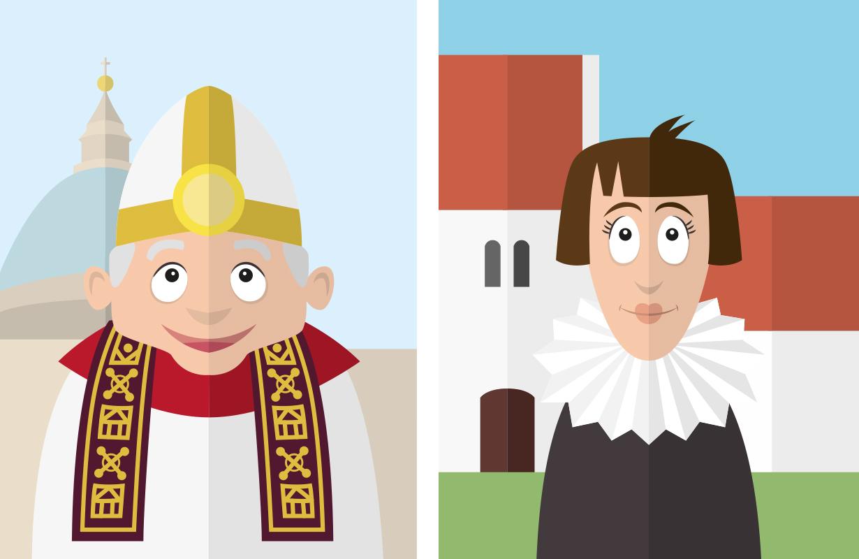 illustration-illustrator-tegning-tegner-religion-kristendom-buddisme-malene-hald-folkeskolen-undervisning-5