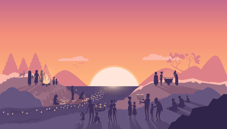 illustration-illustrator-tegning-tegner-religion-kristendom-buddisme-malene-hald-folkeskolen-undervisning-4