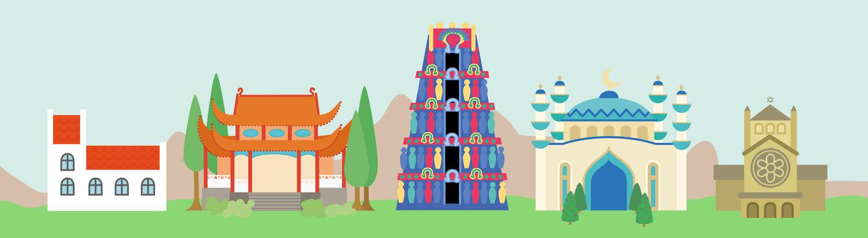 illustration-illustrator-tegning-tegner-religion-kristendom-buddisme-malene-hald-folkeskolen-undervisning-2